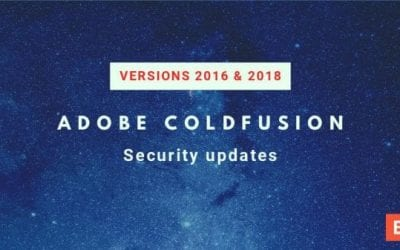 ColdFusion 2018 Update 9 and ColdFusion 2016 Update 15 released